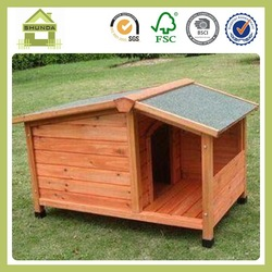 SDD09 wooden dogs house dog kennel wholesale
