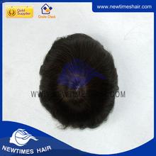 Stock mens short hair full lace bald head wig