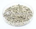 La evaporación de hierro gránulo 99.99% puro piezas de hierro