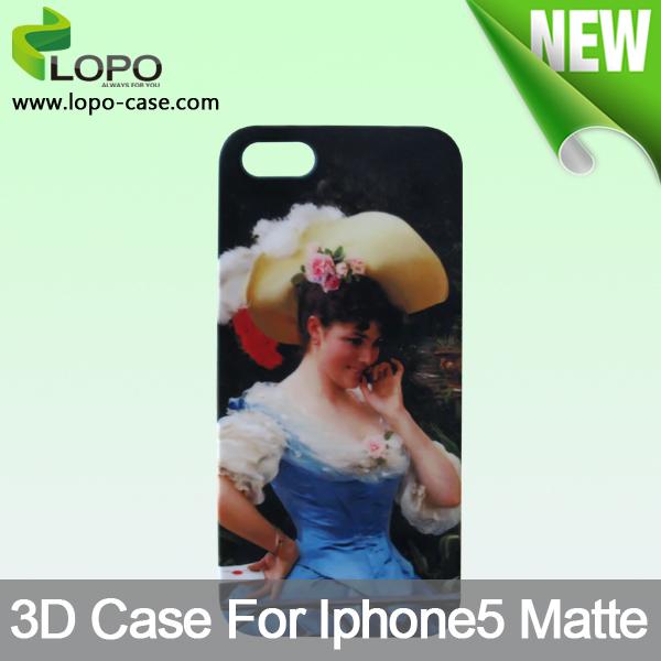 Fashion cheap 3D sublimation Case For iphone 5