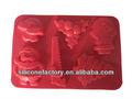 Hot vente! De noël silicone ice / chocolat fabrication moule