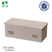JS-BN100 full couch cloth covered infant caskets