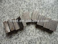 2meter Granite cutting segment size 15mm V type inspl