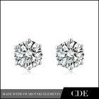 2014 Diamond Silver Jewellery Earring