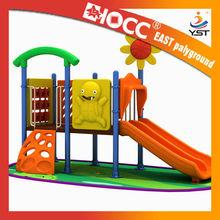 2015 new plastic Kids Outdoor mini slide playset for home