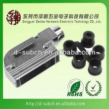 Connector (d-sub Metal HOOD)zinc alloy cover 25pin db shell