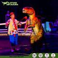 für die Show realsitc animatronic dinosaurier anzug erwachsene