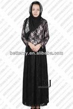KJ-WAB8021 2013 new designs dubai abaya jilbab