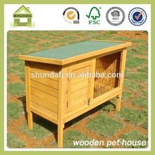 SDR10 wholesale cheap wooden rabbit hutches