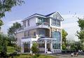 Préfabriqués maison de jardin, la conception architecturale hutte. maison maisons