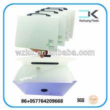 Manufacturer Plastic Hanging document plastic a4 clear file case