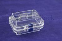 High quality Transparent membrane dental plastic box (CPK-M-10050(A))