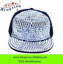 Fashion bright studded sequin snapback caps wholesale