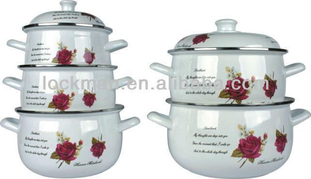 Good Design Enamelware Pots