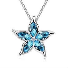 N8107 2013 Euramerican style restoring ancient ways creative fashion popular star strange crystal necklace