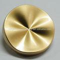 2014 elegante botón dorado de metal brillante para vestido