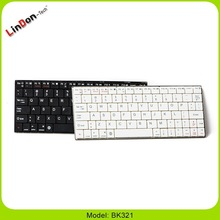 High quality mini ultra thin wireless oem wireless slim bluetooth keyboard for ios system