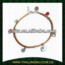 2014 Hot sale bracelet evil eye, handmade bangle,JWC-02B