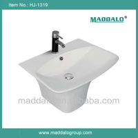 HJ-1319 High End Wall Hung Sink For Barber