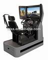 simulador de condução automóvel com 120 degree cheia anjo de visão da tela de toque