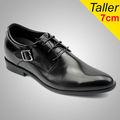 Top model marca sapatos / homens se vestem sapatos de couro apontou