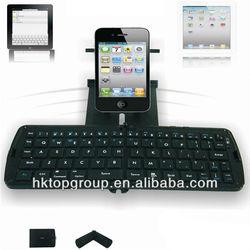 2015 Hot Sale Tiny Smart Foldable Bluetooth Keyboard