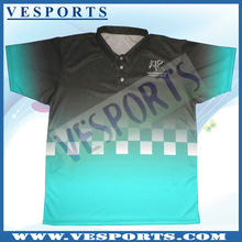 100% Polyester Racing Shirts Fully Sublimated Pit Crew Shirts