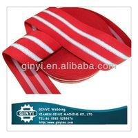 Woven shoulder elastic tape for bra