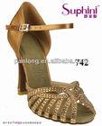 Suphini`s 2014 Elegant Wedding shoes/Satin/High/Stiletto/ Crystal Heel