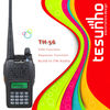 TESUNHO TH-56 LCD DISPLAY 5W 10KM VOX FM TRANSCEIVER REPEATER FUNCTION TWO WAY RADIO H/L POWER SELECTABLE WALKIE TALKIE