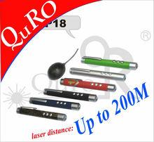 infrarossi senza fili presentatore pagina su e giù puntatore laser rosso luce fino a 200m costruitoin memoria flash opzionale o 5mw 1mw