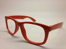 cheap plastic orange funny sunglasses