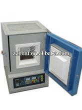 Scatola tz-1200mini per forno di rinvenimento di vetro laboratorio o burnout