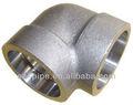 forjados de alta presión accesoriosdetubería socket weld 90 codo
