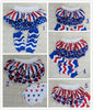 Latest hotsale patriotic design bloomer for baby