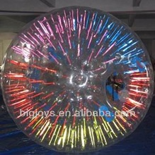 inflatable glow zorb ball,inflatable body zorb ball,inflatable glow beach ball