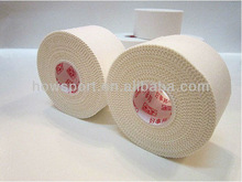 ( S )100% cotton surgical sports tape with serration