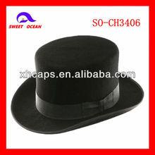 deluxe men's wool felt fedora hats manufacturer (SO-CH3406)
