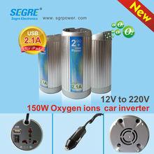 150W usb 5v 2.1a 12v to 220v oxygen bar inverter housing