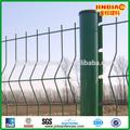 Heißer verkauf! Metall drahtzaun/pvc beschichtet baustahlmatten Zaun/metall gartenzaun