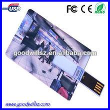 logo usb business card/usb card /business card