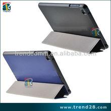 hot selling folio leather case for ipad mini
