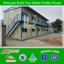 Easy build flat top prefab shop,temporary dormitory, modular house,military camp