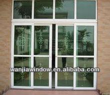 PVC exterior door