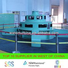 water kaplan turbine generator for hydro power plant