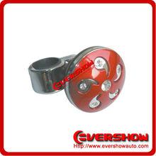 Red shift knob with diamond steering wheel knob ES63004