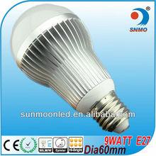 9w led bulbs e27 900lm lighting & bulb manufacturing