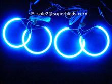 blue color car accessory ccfl angel eye rings kits 131mm fit for BMW E36 E39 E46 E318A04