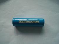 3.7V Li-Ion 18650 Rechargeable Battery 2400mAh