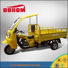China DOHOM 150cc new model three wheeler cabin cargo tricycle